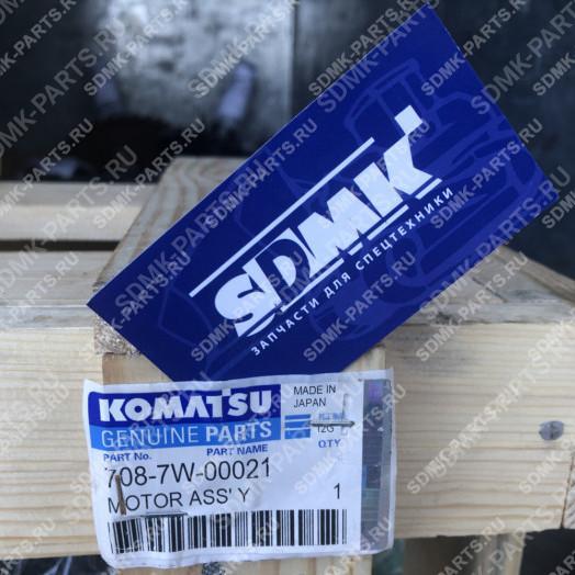 Гидромотор привода вентилятора 708-7W-00021, 708-7W-00012, 708-7W-00011 KOMATSU D275A-5D 708-7W-00020 1