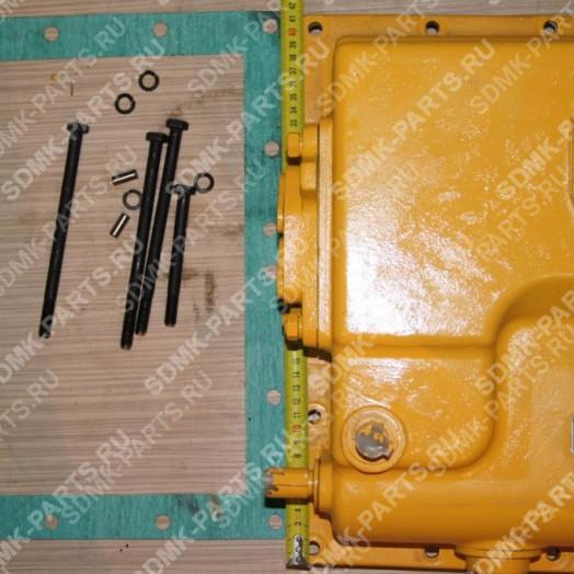 Блок клапанов трансмиссии в сборе с крышкой 175-15-35002 SHANTUI SD-32 155-15-00370