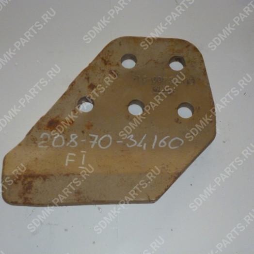 Бокорез правый KOMATSU PC400-6 208-70-34160